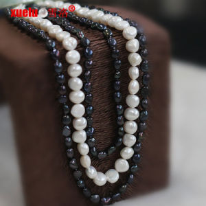 Fashion Jewelry Unique Fresh Water Pearl Necklace Design pictures & photos