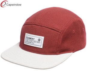 Red Acrylic Camping Hat with Various Styles Material (07047) pictures & photos