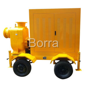 Trash Centrifugal Diesel Water Pump Trailer pictures & photos