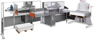 Full Automatic Intelligent Paper Cutter Line (115E) pictures & photos
