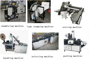 Ice Cream Stick Chamfering Machine, Stick Selecting Machine, Stick Sorting Machine, Ice Cream Stick Logo Stamping Machine, Ice Cream Stick Bundling Machine,