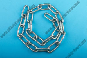 China Manufacture Rigging Electric Galvanized Carbon Steel Medium Link Chain pictures & photos