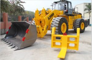 Large Marble & Granite Block Handler Equipment Forklift Truck for Sale pictures & photos