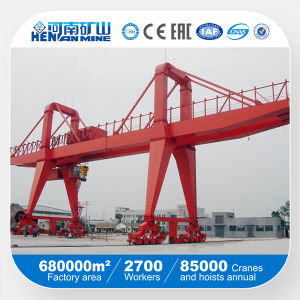 35t Mg Type Twin Girder Goliath Crane pictures & photos