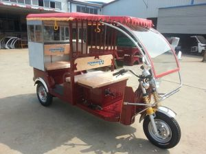 Newest Electric Three Wheel Auto Rickshaw Tricycles, Three Wheel Motorcycle Tricycle pictures & photos