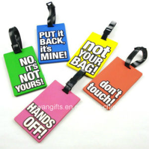 Various Available Silicone Travel Tag (LT040) pictures & photos