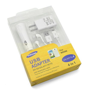 4 in 1 Travel Charger for Samsung S4 I9500 and Other Android Phones pictures & photos