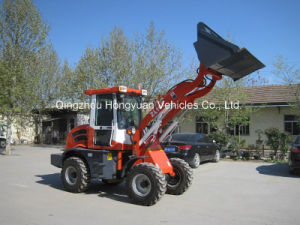 Multi-Function Wheel Loader Zl10f with Road Sweeper (CE approved) pictures & photos