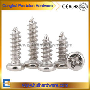 Carbon Steel Galvanized Pan Head DIN 7981 Self Tapping Screws pictures & photos