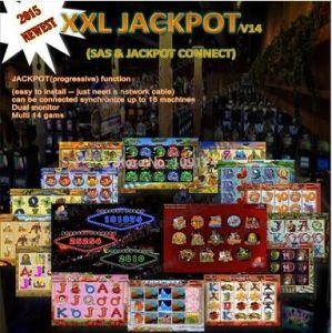 XXL Jackpot & Sas, Multi Game Board XXL 14 in 1 Jackpot Casino Game Board, Gambling Game Board, PCB Game Board with Sas
