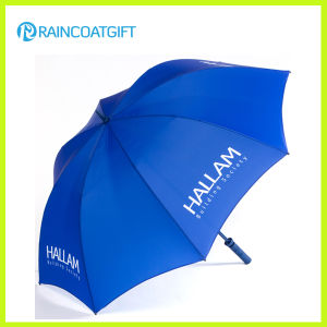 Custom Brand Outdoor Straight Rain Umbrella for Promotion pictures & photos