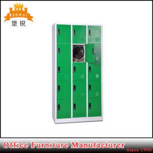 Factory Direct Steel 15 Door Storage Cabinet pictures & photos