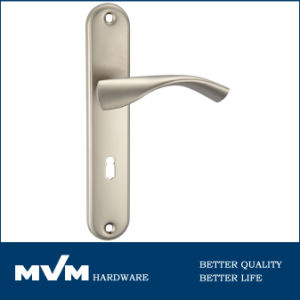 Cabinet Hardware Door Handles on Plate (A1389S005) pictures & photos