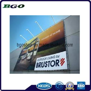 PVC Frontlit Canvas Printing Banner Flex (200dx300d 18X12 280g) pictures & photos