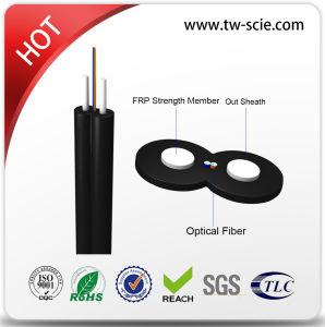 LSZH FTTH Drop Cable 2 Core Fiber Optic Cable pictures & photos
