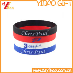 Custom High Quality Silicone Wristband with Own Logo pictures & photos