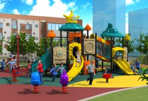 Kids 3-12 Years LLDPE Plastic Outdoor Amusement Park and Kids Outdoor Playground Equipment pictures & photos