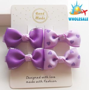 Wholesale Bowknot Hair Clip Hairpin Fashion Baby Hair Accessories Hair Ornaments pictures & photos
