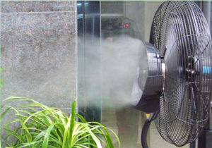 26 Inch Misting Fan Portable Powerful Air Cooling pictures & photos