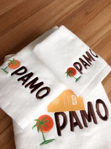 Shanghai DPF Textile Hotel White Bath Towel Set pictures & photos