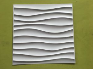 Cheap and Fine Paintable Interior Wall Decoration PVC Wall Panel China Durable Waterproof 3D Wall Panel pictures & photos