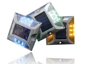 Factory Original Two Sides Six LEDs Solar LED Road Stud Side Light with Sunlight Control pictures & photos