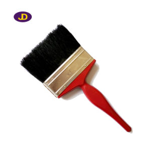 Angle Sash Paint Brush with Wooden Long Handle pictures & photos