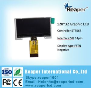 Cog 128X32 Monochrome LCD Display. St7567 Controller. FPC 14pin pictures & photos