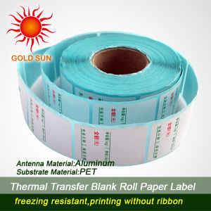 U2cmark Hot Self Adhesive Thermal Paper Label for Printing (TPL-018) pictures & photos