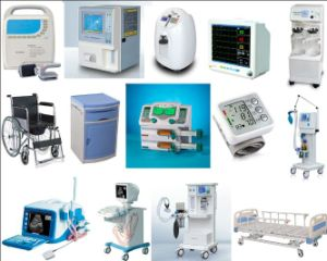 Medical Syringe Pump Instrument with Double Channel pictures & photos