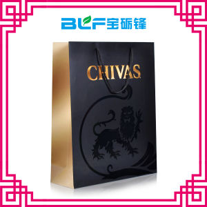 Gift New Paper Bag Black (BLF-PB148) pictures & photos