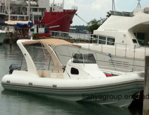 Liya 8.3meter Ce Approved Luxury Boat Cabin Rib Boat Sale pictures & photos