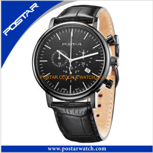 Factory Customized Chrono 10ATM Stainless Steel Watch Swiss Qualtiy Watch pictures & photos