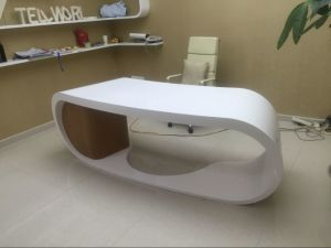 Acrylic Solid Surface Executive Office Desk Goggle Office Desk pictures & photos