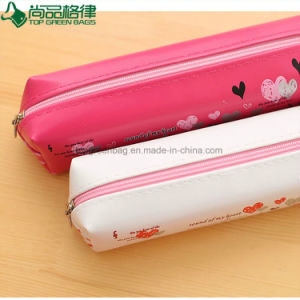 Customized Cheap Promotion Polyester Zipper Kids Children Pencil Bag pictures & photos