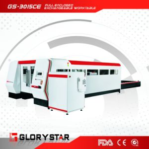 New Product Hot Sale Fiber Metal 4kw Laser Cutter pictures & photos