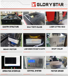 Metal Letter Cutting Machine/Fiber 1000W Metal Laser Cutter pictures & photos