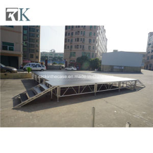 Portable Aluminum Adjustable Stage for Outdoor Event Concert pictures & photos