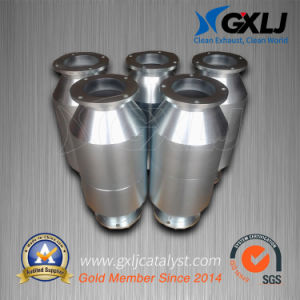 High Flow Stainless Steel Metal Substrate Catalytic Converter pictures & photos