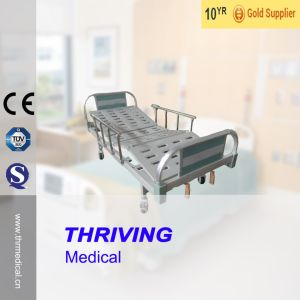Thr-Cmhd-01 2-Crank Hospital Manual Medical Bed Prices pictures & photos