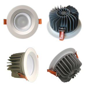 110mm Cutout Hotel LED Lighting 20W Citizen COB LED Downlight pictures & photos