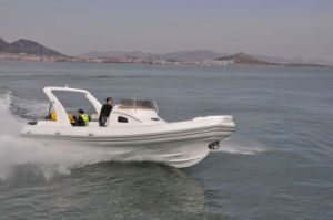 Liya 8.3m Luxury Rib Boat with Motor Boat for Sale pictures & photos