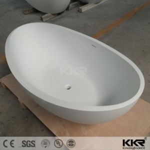 Modern Bathroom Furniture Artificial Stone Corner Small Bathtubs (BT1708242) pictures & photos