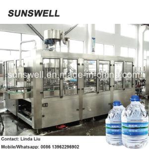 500bph Big Bottle/Barrel 18.9L Plasitc Bottle Water Filling Machine/Pure&Mineral Water Bottling System pictures & photos