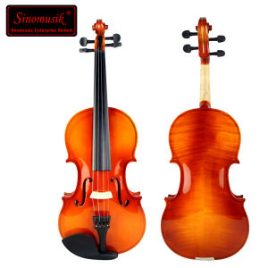 Cheap Plywood Red Brown Student Violin pictures & photos