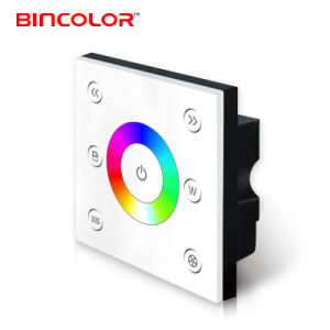 P4 12V 24V 4CH Colorful Circle LED RGBW Touch Panel Stair Lighting Controller
