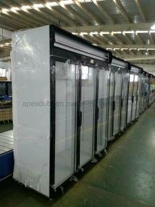Single-Temperature Glass Door Beverage Display Coolers pictures & photos