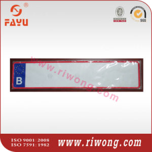 Euro Car Number Plate with Reflective Film, European License Plate pictures & photos