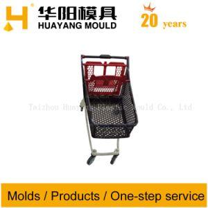 Plastic Shopping Cart Mould Super Market Cart Mould pictures & photos