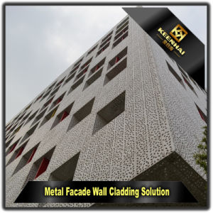 China Wholesale Aluminium External Wall Panels for Curtain Wall pictures & photos
